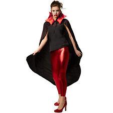 Vampir Umhang Karneval Fasnacht Halloween Dracula Cape Herren Damen Kostüm