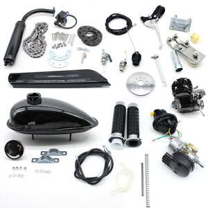 80CC 2 Stroke Bicycle Engine Kit Petrol Engine Motorised Mountain Bike Motor