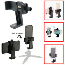 Universal Smartphone Tripod Adapter, Cell Phone Holder Mount Adapter Vertical