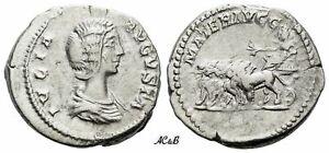 AC&B-1154. Roman Empire. Julia Domna, wife of S. Severus. Denarius