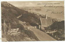 Lower Road and Toll Gate, Folkestone, 1931 postcard