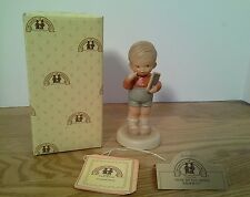 Memories of Yesterday Lucie Attwell How Do You Spell Sorry Figurine 1987 #114529