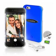 SereneLife Selfie Battery Cell Phone Case for iPhone 6 Plus - Blue