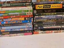 Lot of 28 EMPTY DVD CASES WITH ART COVERS ~~ /NO MOVIES INCLUDED