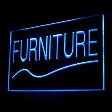 200032 Furniture Shop House Cupboard Cabinet Wooden Sofa Modern Led Light Sign