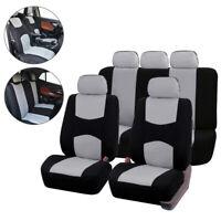 Grey 9pcs Set Car Universal Auto Front Seat Cover Automotive Seat Covers