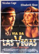 manifesto movie poster 2F VIA DA LAS VEGAS FIGGIS CAGE CINEMA