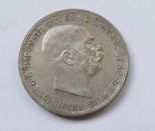 5 Kronen 1909 Österreich Franz Joseph I, silver coin