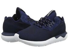 online store a0344 fbc1c NUOVA linea uomo Adidas B25596 Tubolare Runner intreccio in esecuzione  Scarpe da ginnastica Navy co uk