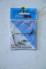 FishZone Pulley Pennel 3/0-3/0...rough ground sea fishing rig