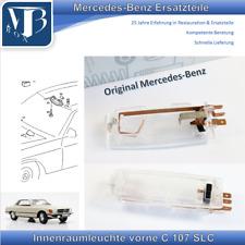 Original Mercedes-Benz W107 C107 450SLC Interior Lights Front