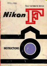 NIKON F 1959 ORIGINAL INSTRUCTION MANUAL