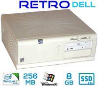 Vintage Commercial Dell Optiplex GX1 Pentium 3 Win98 ISA Slot Serial Parallel