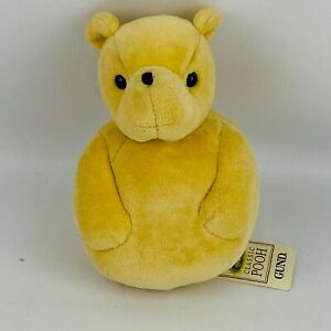 "Gund Classic Pooh Winnie the Pooh 6"" Plush Chime Ball Room Decor Stuffed Toy"
