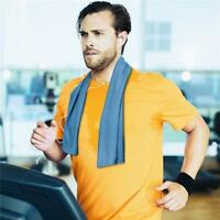 Cooling Towel Ice Cold Golf Cycling Jogging Gym Sports Outdoor TOWEL y