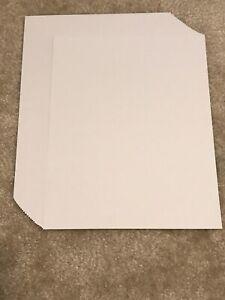 "Neenah Exact Index Cardstock Paper Lot Gray Grey 8.5 x 11"" 24 Sheets 110 lb"