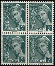 FRANCE 1938 Type MERCURE Bloc N° 405  neuf ★★ Luxe /MNH