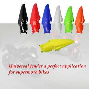 7 Color Polypropylene Dirt Bike Motocross Supermoto Enduro Rear Fender Mudguard