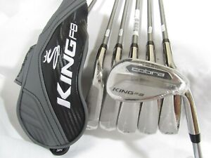 New RH Cobra King F8 Iron Set 5H-GW - Aldila Rogue Seniors A flex graphite F-8