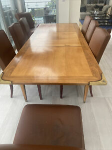 italian dining table and chairs used
