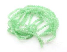 Jade Stone Beads DIY Necklace/ Bracelet 3 Strings of 60 Beads UK