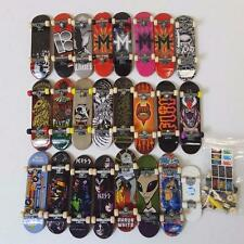 Tech Deck Lot of 24 Skateboards Fingerboard Parts Birdhouse KISS Blind Tony Hawk