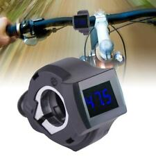 Thumb Accelerator Shifter with Digital Voltage Display for Electric Scooter Bike