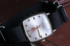 POLJOT watch, gold-plated case AU mechanical movement new strap Nato style