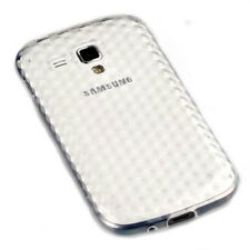 SILICONE TPU COVER TRASPARENTE Samsung s7562 GALAXY S DUOS + Pellicola di protezione schermo