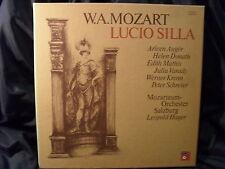 W.A. Mozart - Lucio Silla / Hager     4 LP-Box