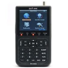 Original SATLINK WS-6908 FTA Satellite Finder Digital Satellite Meter DVB-S QPSK