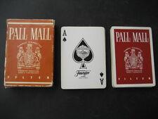 Baraja Poker FOURNIER con publicidad de TABACOS PALL MALL. Playing Cards.