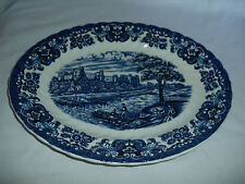 British Anchor Olde Country Castles Serving Platter