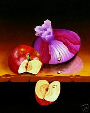 Lee CHRISTOPHERSON Onion & Apple Fine Art Print A/P