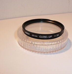 COKIN 49mm +1 CLOSE UP FILTER , CASED & CLEAN