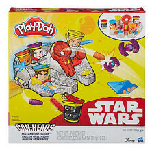 Play-Doh Star Wars Millennium Falcon Featuring Can-Heads B0002 NEW!