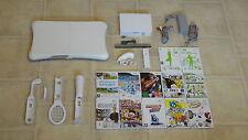 Nintendo Wii Konsole mit MegaSet + 2 Gratis Wii Spiele + Balance Board + Remote