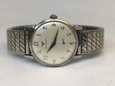 Vintage1960s mens Wittnauer-Longines watch FOR REPAIR looks nice not running