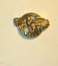 WW II U.S. ARMY HONORABLE DISCHARGE LAPEL PIN W/ SCREW BACK