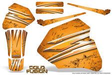 HONDA XR80 XR100 XR 80 100 1985-2000 CREATORX GRAPHICS KIT COLD FUSION ORANGE