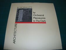 OMD ARCHITECTURE & MORALITY VINYL LP