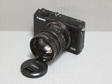 7Artisans 55mm F1.4 MF Prime Lens for Canon EF-M mount (APS-C Mirrorless)