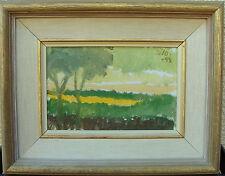 Gunnar Zilo 1885-1958, Landschaft mit Bäumen, datiert 1949