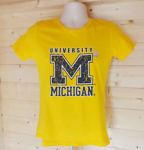 Majestic Athletic Size Medium Women's Yellow T-Shirt Tee Top