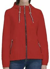 New Tommy Hilfiger Womens Windbreaker Full Zip Water...