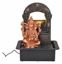 Zimmerbrunnen Buddha 40cm mit Beleuchtung Brunnen Indoor Figur Statue Hinduismus