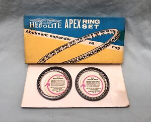 NOS Hepolite Piston Ring Half Set For 1952-62 Vauxhall Wyvern RA5796
