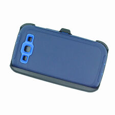 New For Samsung Galaxy S3 Defender Case (Belt Clip Fits Otterbox) Navy