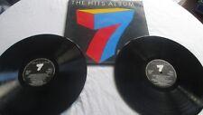 The Album Hits 7 various 1980s artists vinyl Double LP.
