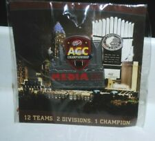 2012 ACC Football Championship media pin, mint in package, Dr Pepper